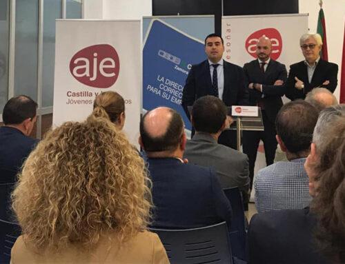 Presentación de AJE Zamora, y allí estuvimos