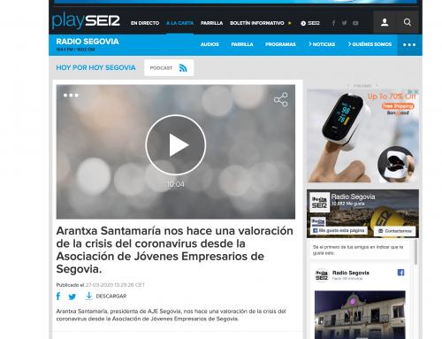 Entrevista a Arantxa Santamaría en Cadena Ser