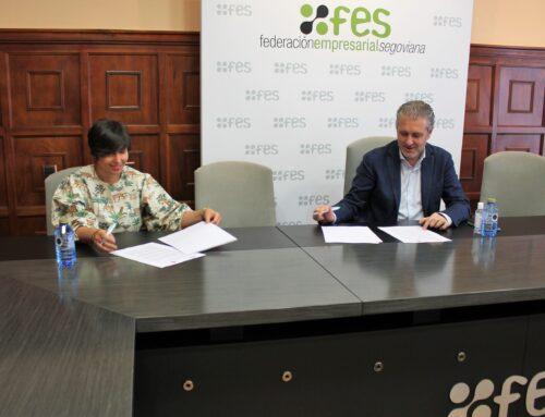 FES y AJE Segovia reúnen esfuerzos para facilitar la creación de empresas a través del asesoramiento y la prestación de servicios