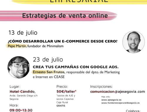 AJE Segovia junto a Fundación Caja Rural crean el Campus de verano Empresarial