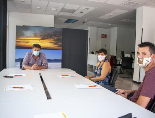 AJE Segovia y el Centro de Negocios Exitus trabajan por un Convenio de colaboración