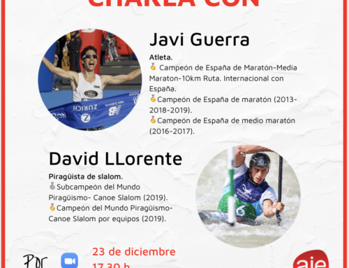 Charla con Javi Guerra y David Llorente