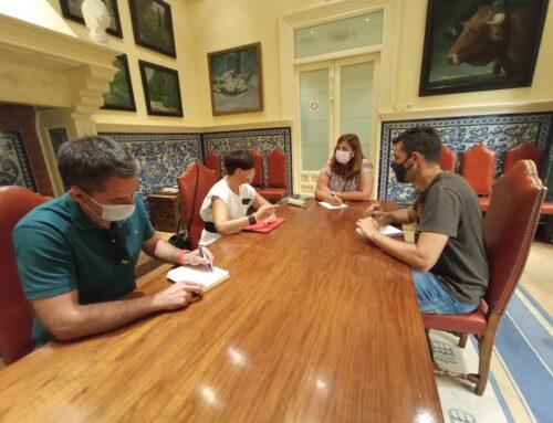Reunión con la Concejalía de Urbanismo del Ayuntamiento de Segovia